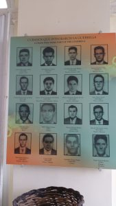 아바나 혁명 박물관에 있는 히론 전투 영웅들