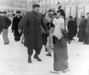 ▲ 1960년 북한을 방문했을 때의 체 게바라